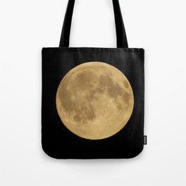 Full Night Moon Tote Bag