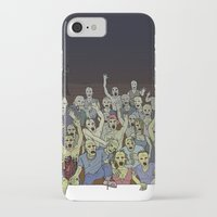 zombies iPhone & iPod Cases featuring Zombies!!! by Justin McElroy