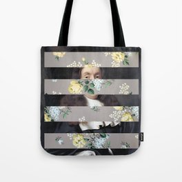 A Portrait With Bars 3 Tote Bag