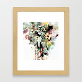 Interpretation of a dream - Parrot Framed Art Print