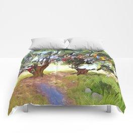 Wishing Tree on Tara Hill Comforters