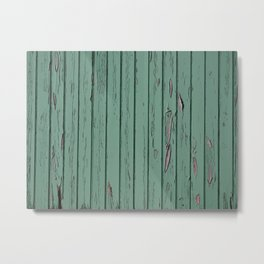 GREEN WOOD Metal Print