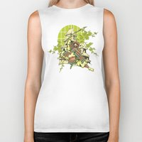 asian Biker Tanks featuring Asian spring by Tshirt-Factory