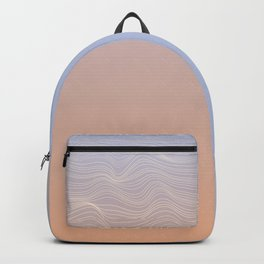 Pastel lines Backpack