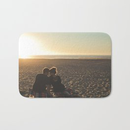 Couple Courting Bath Mat