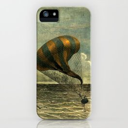Hot Air Balloon - Jules Verne/George Roux iPhone Case