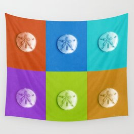 Sand Dollars - multicolor! Wall Tapestry