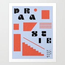 My Alternative Parasite Poster Art Print