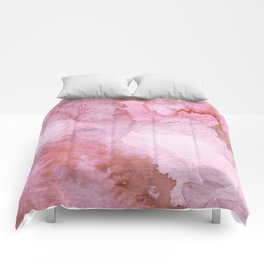 Watercolor pattern red Comforters