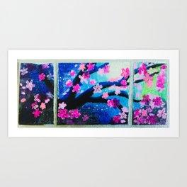Cherry blossoms tree Art Print