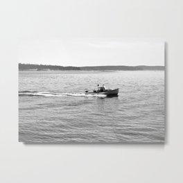 Sailing in Acadia National Park Metal Print