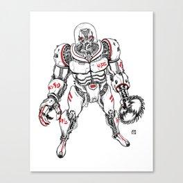 Killer Robot!!! Canvas Print
