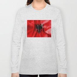 Albania Flag Long Sleeve T-shirt