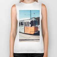 budapest hotel Biker Tanks featuring Budapest by Johnny Frazer