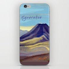 Mount Ngauruhoe iPhone & iPod Skin