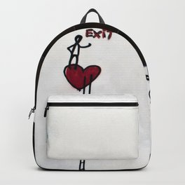 Graffiti on the wall Backpack