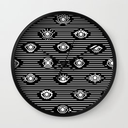 Wide Eyes Wall Clock