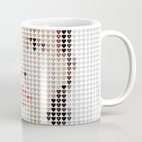 dorothy Mugs featuring I Heart Dorothy Gale by Robotic Ewe