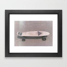 Penny Board Framed Art Print