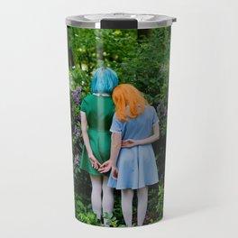 sara and laetitia at kornerpark Travel Mug