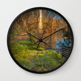 Green Mile Prison Cell Wall Clock