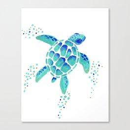 Neptune's Turtle Canvas Print