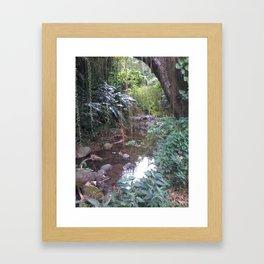 Rivière de Tivoli 972 2015 Framed Art Print