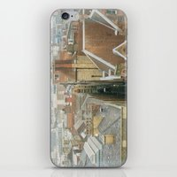 liverpool iPhone & iPod Skins featuring Hello, Liverpool by Sami Kelsh