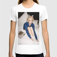 sky ferreira T-shirts featuring Love In Stereo ~ Sky Ferreira by Michelle Rosario
