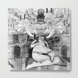 The constellation erotique 3607 Metal Print