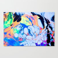 sonic youth Canvas Prints featuring sonic by blair__berger