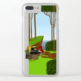 Princess penguin  br Clear iPhone Case