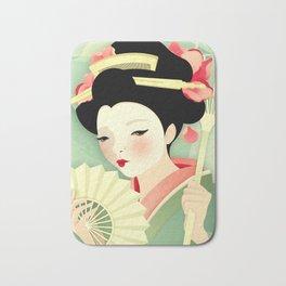 Geisha: Rose Bath Mat