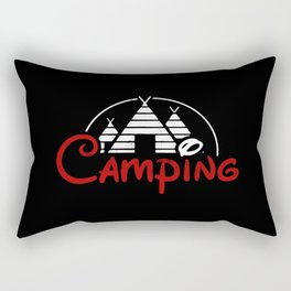 camping Rectangular Pillow