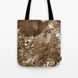 The Valley of Ashes - The Great Gatsby Tote Bag
