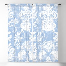 ocean and white breeze Blackout Curtain