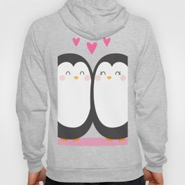 Cartoon Penguin Lover Hoody