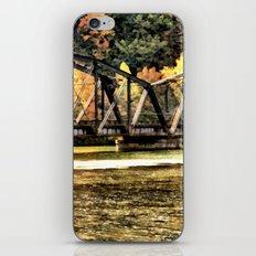 West VA Train Bridge iPhone & iPod Skin
