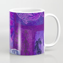 Hawaiian Tapa Collage Coffee Mug
