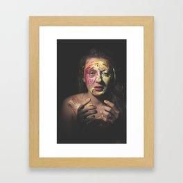 Colors of Women, A.F. Framed Art Print