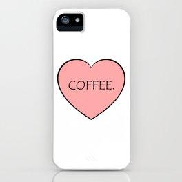 Coffee. iPhone Case