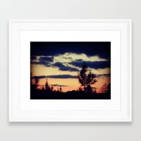 skyfall Framed Art Prints featuring Skyfall by Magnolia Dreams Photography