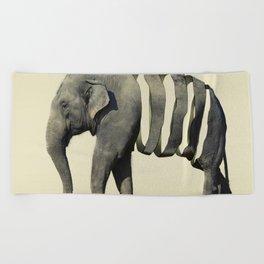 Ribbon Elephant Beach Towel