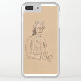 Gustave III Clear iPhone Case