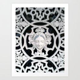Paris Gate Art Print