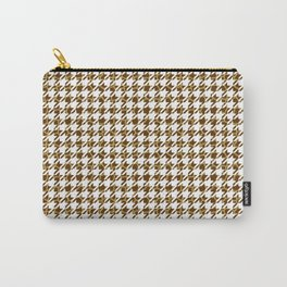 Houndstooth Giraffe Fur Pattern Carry-All Pouch