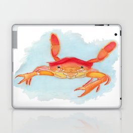 Orange Swimmer Crab Laptop & iPad Skin