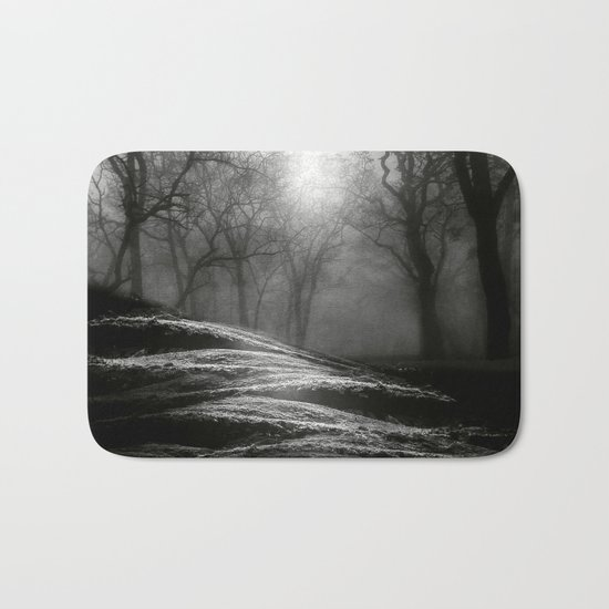 Black and White - From small beginnings and big endings Bath Mat
