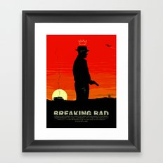 Break Bad - Heisenberg Framed Art Print