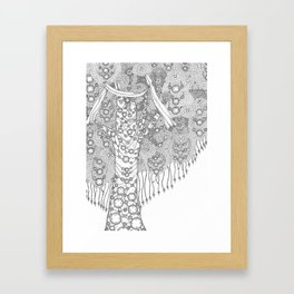 Wishing Tree Framed Art Print